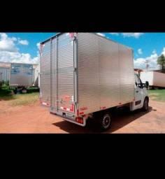 Título do anúncio: Frete caminhão baú