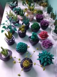 Cactos e suculentas plantas ARTIFICIAIS