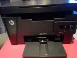 Impressora HP laser Net pro MFP M125a