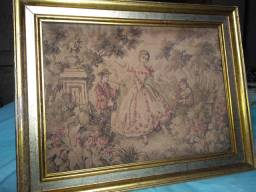 Quadro tapeçaria Gobelins original