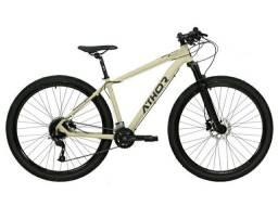 Título do anúncio: Bike Athor Storm 29 18v Susp. Ar/Óleo Absolute Prime