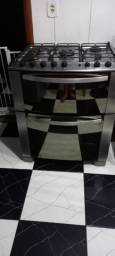 Título do anúncio: Fogão Electrolux com 5 bocaa e 2 fornos