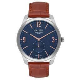 Relógio Orient Masculino Social Com Pulseira de Couro Original