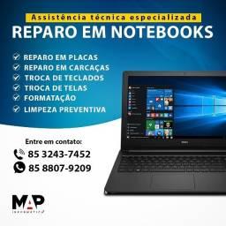 Título do anúncio: Serviços em Notebooks e Pc's