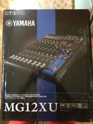 Mesa de som Yamaha mg12xu 12 canais