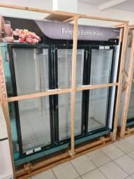 Geladeira  frios e lacticínios 3 portas