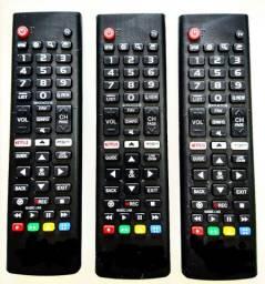 Controle remoto TV LG SMART com tecla Netflix Amazon