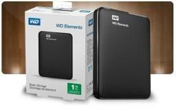HD Portátil Externo 1tb WD Western -Lacrado
