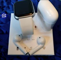 KIT Relogio Smart e Fone Bluetooth (entrega grátis)