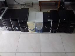 10 gabinetes usados de CPU. R$100 em todos