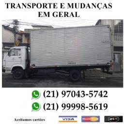 Transportes e Mudanças em Geral Caminhão Baú Fechado