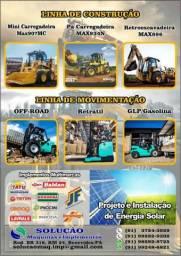 Máquinas Pesadas e Empilhadeiras a Diesel, Elétricas e Glp