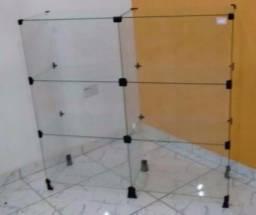 Balcão vitrine 100cm