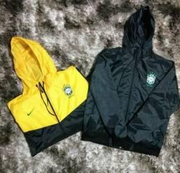 Jaquetas corta vento Brasil impermeável