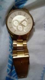Relógio foleado a ouro Euro