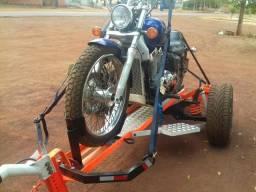 Carretinha reboque para moto