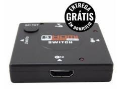 Adaptador hub switch 3x1 - 3 portas hdmi para xbox ps3 tv - entrega grátis