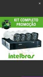 Kit Intelbras hdcvi dvr mult HD