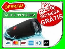 Caixa De Som Jbl Charge 3 Bluetooth - Resistente a Água - Novo - Entrega Grátis