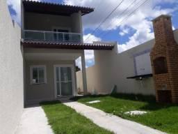 Duplex novo com documentação inclusa, 2 quartos, 3 banheiros, churrasqueira, 2 vagas, sala