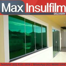Insulfilm com qualidade! residencial, comercial e automotivo