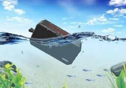 Caixa de som a prova de agua sardine f5 ipx6, bloethoth,usb,sd