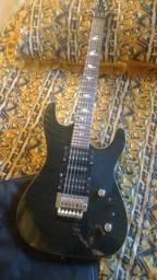 Guitarra mg230 preta memphis+ pedaleira g1 next com pedal