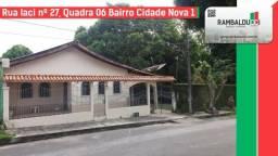 Aluga-se Casa no bairro Cidade Nova
