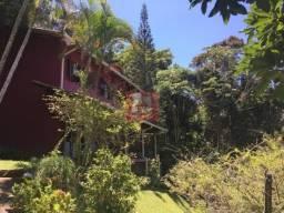Casa com 4 dormitórios à venda, 350 m² por r$ 770.000 - parque do imbui - teresópolis/rj