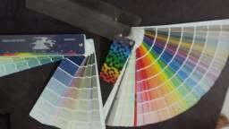Catálogo de cores