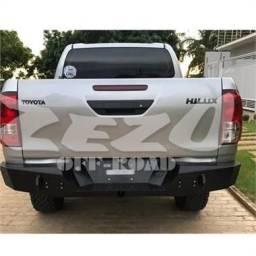Para-Choque Traseiro Aço Toyota Hilux (Pick-Up) Ano 2016 Até 2019