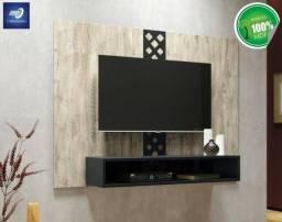 """Painel 100% MDF para TV até 47"""" c/ Design Inovador #FreteGRÁTIS* #Garantia #Lacrado"""
