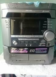 Som Sony 2 caixas conservado!