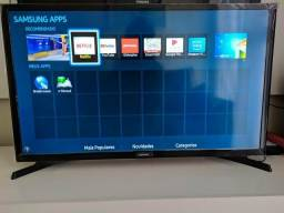Smart TV Samsung UN-32J4300 led 32 pol wifi integrado netflix nova em P.Alegre-rs