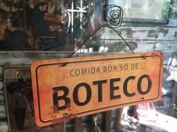 Plaquinha Boteco