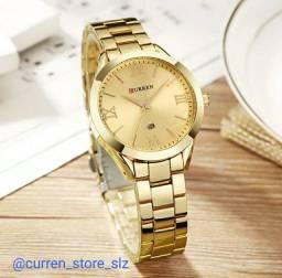Lindos Relógios femininos CURREN super luxo, a pronta entrega.