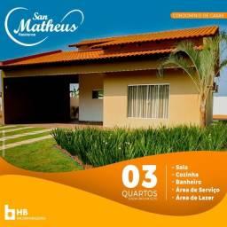 Condomínio Residence San Matheus, Com Ótimo Acabamento, Pronta Para Morar