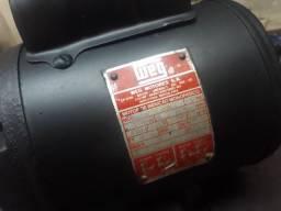 motor  frangueira  ou tanquinho cimento weg  cv  1/4  rpm  1700 127  220