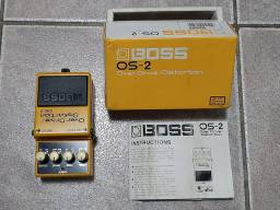 Pedal BOSS OS-2 (Overdrive/Distortion)