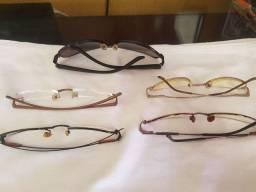 Armação Óculos 5 unidades
