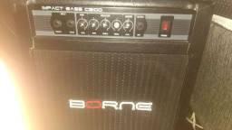 Cubo Ativo P/contrabaixo 70w Rms Impact Bass Cb 100 Borne aceito troca
