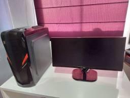 Pc Computador Amd ryzen 5 3600 12gb RAM SSD 256gb, gtx660 + monitor LG