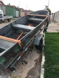 Barco e carretinha