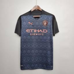 Camisa Manchester City 20/21 - Original Tamanho M
