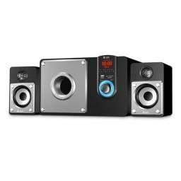 Caixa De Som Speakers Bluetooth 3 Subwoofer 60W VM-X2140 Infokit