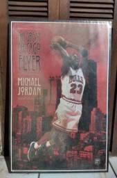 Quadro - Michael Jordan - The Great Chicago Flyer