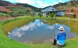 Título do anúncio: Sítio 30 mil metros, nascente, peixes - Domingos Martins