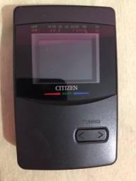 Relíquia Citizen DS777- mini tv portátil vintage