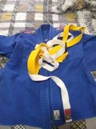 kimono azul tamanho 1 yama