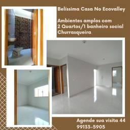 Título do anúncio: Casa 54m² no Ecovalley
